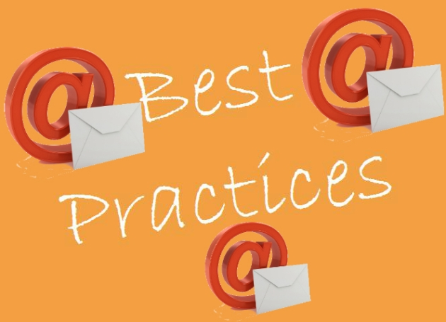 Best Practices for email