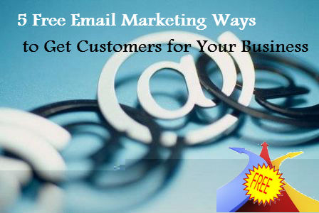 5 Free Email Marketing