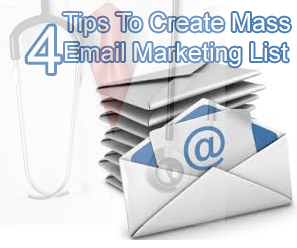 how to create mass email accounts
