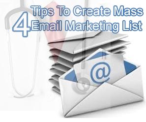 Mass Email Marketing List