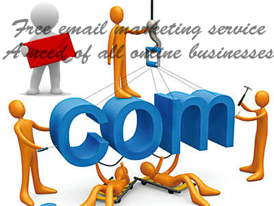 Free email marketing service