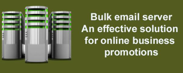 Bulk email server
