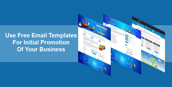 business promotion email template - use free email templates for initial promotion of your